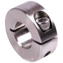 D = 22mm geschlitzt Klemmringe aus Edelstahl